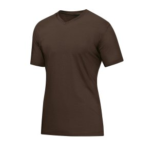 jako-v-neck-t-shirt-braun-f37-fussball-teamsport-textil-t-shirts-6113.png