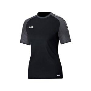 jako-champ-t-shirt-damen-schwarz-grau-f21-shirt-kurzarm-shortsleeve-teamausstattung-6117.png