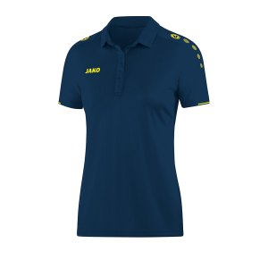 jako-classico-poloshirt-damen-blau-gelb-f42-fussball-teamsport-textil-poloshirts-6350.png