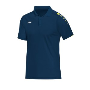 jako-classico-poloshirt-kids-blau-gelb-f42-fussball-teamsport-textil-poloshirts-6350.png
