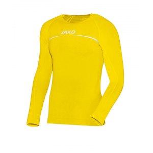 jako-longsleeve-comfort-shirt-kids-gelb-f30-langarm-trainingstop-underwear-sport-6452.png