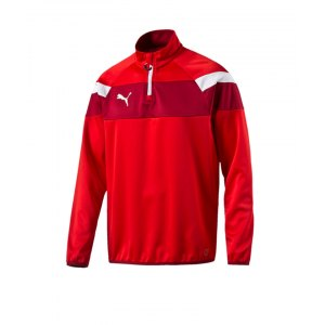 puma-spirit-2-1-4-zip-trainingstop-sweatshirt-reissverschluss-teamsport-vereine-men-herren-rot-f01-654657.png