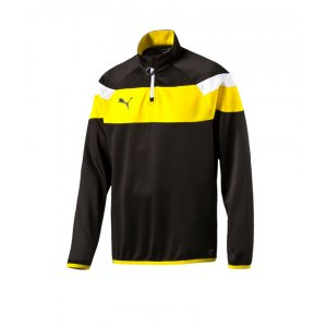 puma-spirit-2-1-4-zip-trainingstop-sweatshirt-reissverschluss-teamsport-vereine-men-herren-schwarz-f37-654657.png