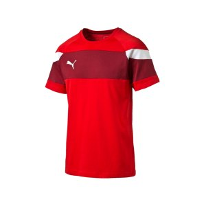 puma-spirit-2-leisure-t-shirt-kurzarmshirt-teamsport-men-herren-rot-weiss-f01-654659.png