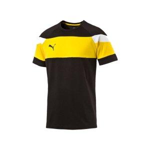 puma-spirit-2-leisure-t-shirt-kurzarmshirt-teamsport-men-herren-schwarz-gelb-f37-654659.png