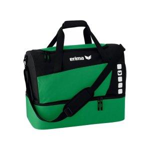 erima-sporttasche-mit-bodenfach-tasche-beutel-club-5-gr-m-gruen-schwarz-723337.png