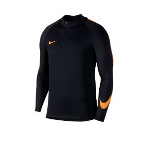 nike-dry-football-drill-top-1-4-zip-kids-schwarz-orange-f015-kinder-training-langarmshirt-swoosh-kurzreissverschluss-859292.png