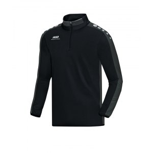 jako-striker-ziptop-sweatshirt-kinder-teamsport-ausruestung-freizeit-mannschaft-f08-schwarz-grau-8616.png