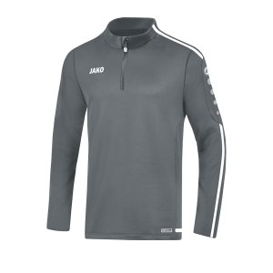 jako-striker-2-0-ziptop-kids-grau-weiss-f40-fussball-teamsport-textil-sweatshirts-8619.png