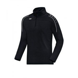 jako-classico-ziptop-kids-schwarz-weiss-f08-zipper-sporttop-trainingstop-sportpulli-teamsport-8650.png