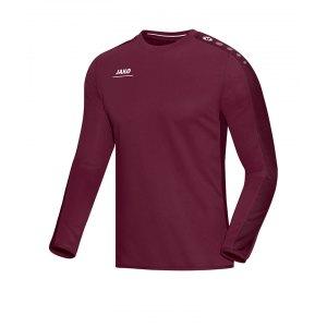 jako-striker-sweatshirt-herren-teamsport-ausruestung-mannschaft-f14-dunkelrot-8816.png