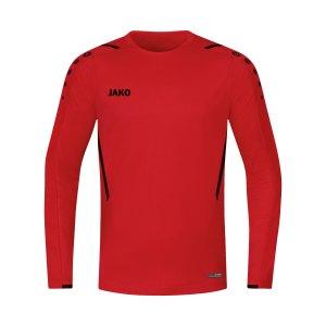jako-challenge-sweatshirt-kids-rot-schwarz-f101-8821-teamsport_front.png