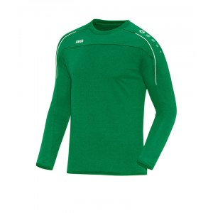 jako-classico-sweatshirt-gruen-weiss-f06-trainingswear-sweater-trainingsshirt-teamausstattung-8850.png