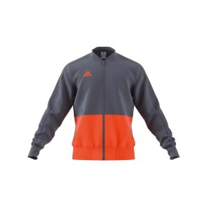 adidas-condivo-18-praesentationsjacke-grau-orange-fussball-teamsport-football-soccer-verein-cf4312.png