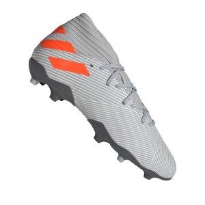 adidas-nemeziz-19-3-fg-kids-grau-orange-fussball-schuhe-kinder-nocken-ef8302.png