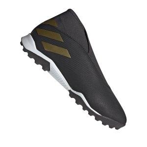 adidas-nemeziz-19-3-ll-tf-schwarz-fussball-schuhe-turf-ef0386.png