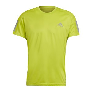 adidas-own-the-run-t-shirt-running-gelb-gj9965-laufbekleidung_front.png