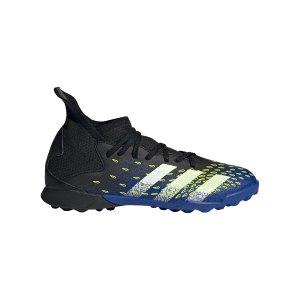 adidas-predator-freak-3-tf-j-kids-schwarz-weiss-fy0624-fussballschuh_right_out.png
