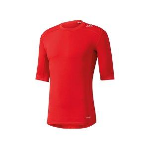 adidas-tech-fit-base-tee-kurzarmshirt-unterwaesche-funktionswaesche-men-herren-rot-aj4968.jpg