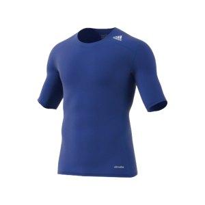 adidas-tech-fit-base-tee-kurzarmshirt-unterwaesche-funktionswaesche-men-herren-blau-aj4972.png