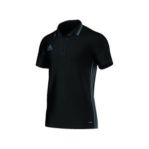 adidas-condivo-16-cl-poloshirt-kurzarmshirt-herren-maenner-man-erwachsene-sportbekleidung-training-schwarz-grau-aj6899.png