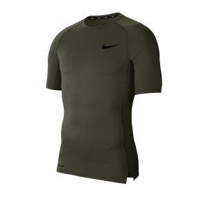 nike-pro-shirt-shortsleeve-gruen-f325-underwear-kurzarm-bv5631.png