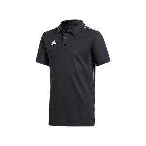 adidas-core-18-poloshirt-kurzarm-kids-schwarz-teamsport-fussballbekleidung-mannschaftsausruestung-shortsleeve-ce9038.png