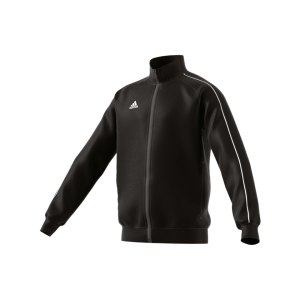 adidas-core-18-polyesterjacke-kids-schwarz-weiss-jacket-sportbekleidung-funktionskleidung-fitness-sport-fussball-training-ce9052.png