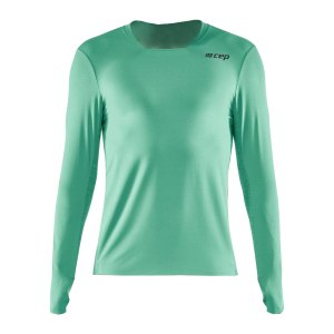 cep-shirt-langarm-running-gruen-w0136-laufbekleidung_front.png