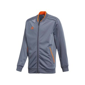 adidas-condivo-18-polyesterjacke-kids-grau-orange-fussball-teamsport-football-soccer-verein-cf4333.png