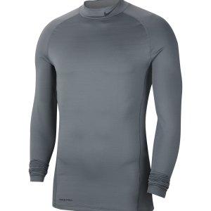 nike-pro-warm-top-mock-grau-f068-cu4970-underwear_front.png