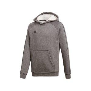adidas-core-18-hoody-kapuzensweatshirt-kids-grau-fussball-teamsport-ausstattung-mannschaft-fitness-training-cv3429.png
