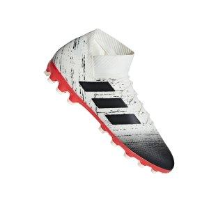 adidas-nemeziz-18-3-ag-weiss-rot-fussballschuh-sport-kunstrasen-d97983.jpg