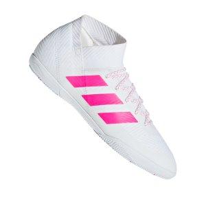 adidas-nemeziz-18-3-in-halle-weiss-pink-fussballschuhe-halle-d97987.jpg