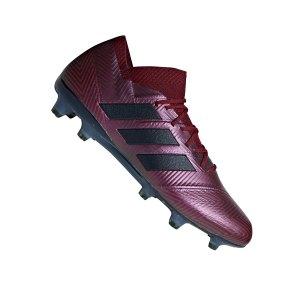 adidas-nemeziz-18-1-fg-dunkelrot-fussball-schuhe-nocken-rasen-kunstrasen-soccer-sportschuh-db2082.png