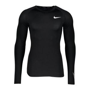 nike-pro-tight-fit-sweatshirt-schwarz-weiss-f010-dd1990-underwear_front.png