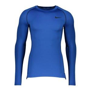 nike-pro-tight-fit-sweatshirt-blau-schwarz-f480-dd1990-underwear_front.png