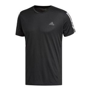 adidas-run-it-3-stripes-t-shirt-running-schwarz-dm1665-laufbekleidung_front.png