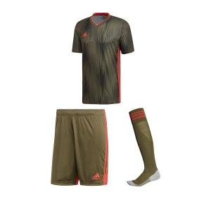 adidas-tiro-19-trikotset-kurzarm-khaki-rot-dp3530.jpg