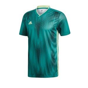 adidas-tiro-19-trikot-kurzarm-gruen-gelb-fussball-teamsport-textil-trikots-dp3536.png