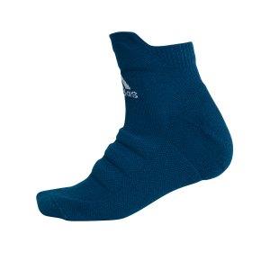 adidas-alphaskin-lw-cushioning-ankle-socken-blau-fussball-teamsport-textil-socken-dv1431.png