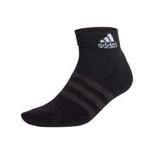 adidas-cushioned-ankle-socken-6er-pack-schwarz-dz9363-fussballtextilien_front.png