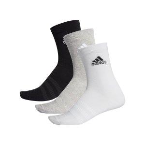adidas-light-crew-socken-3er-pack-grau-dz9392-fussballtextilien_front.png
