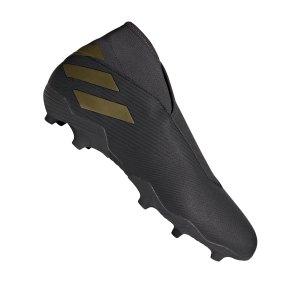 adidas-nemeziz-19-3-ll-fg-schwarz-gold-fussball-schuhe-nocken-ef0371.png