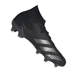 adidas-predator-20-1-fg-schwarz-silber-fussball-schuhe-nocken-ef1612.png