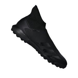 adidas-predator-20-3-ll-tf-schwarz-grau-fussball-schuhe-turf-ef1652.png
