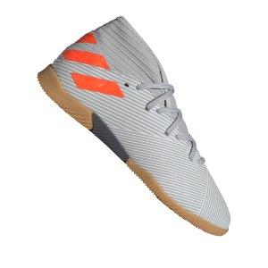 adidas-nemeziz-19-3-in-halle-kids-grau-orange-fussball-schuhe-kinder-halle-ef8304.png