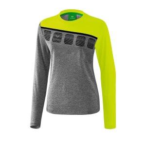 erima-5-c-longsleeve-damen-grau-gruen-fussball-teamsport-textil-sweatshirts-1331917.png