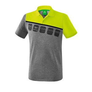 erima-5-c-poloshirt-grau-gruen-fussball-teamsport-textil-poloshirts-1111908.png
