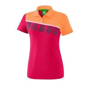 erima-5-c-poloshirt-kids-pink-orange-fussball-teamsport-textil-poloshirts-1111921.png